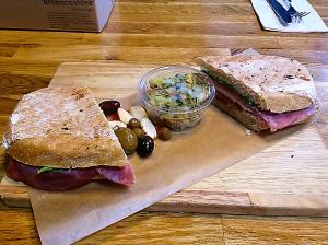 Kalamata Sandwich